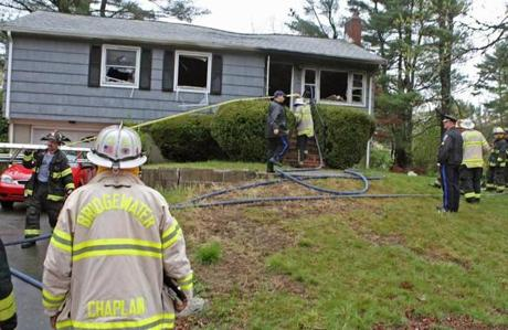 A fire Monday on Winter Street in Bridgewater that killed Diane Anderson is under investigation, but Bridgewater Deputy Fire Chief Thomas Levy said it does not appear to be suspicious.